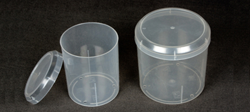100 & 200 Round Containers for Ear Buds