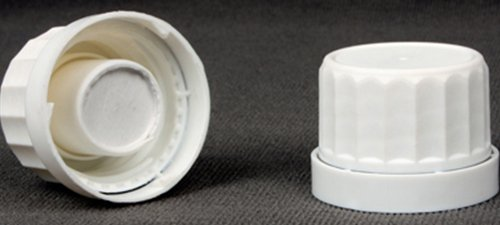 Plastic Caps with Silicagel Canister